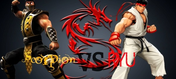 Mortal Kombat Vs Street Fighter Live Action Short Scorpion Vs Ryu Dsogaming