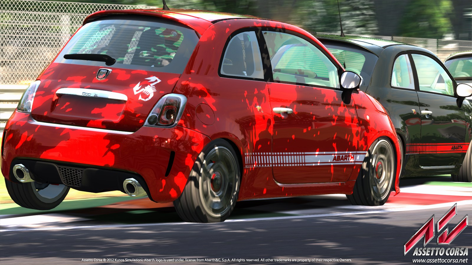 Fiat 500 Abarth Playable In Assetto Corsa Pc Game