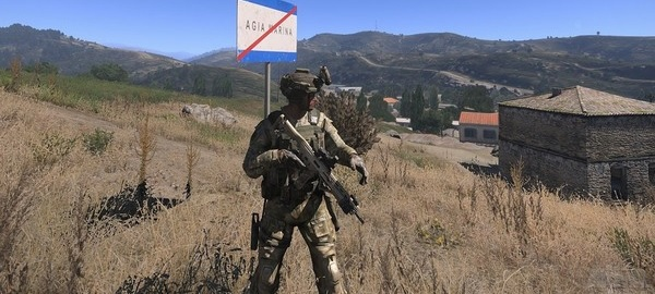 Arma 3 - Drive Across The Game's Biggest Map