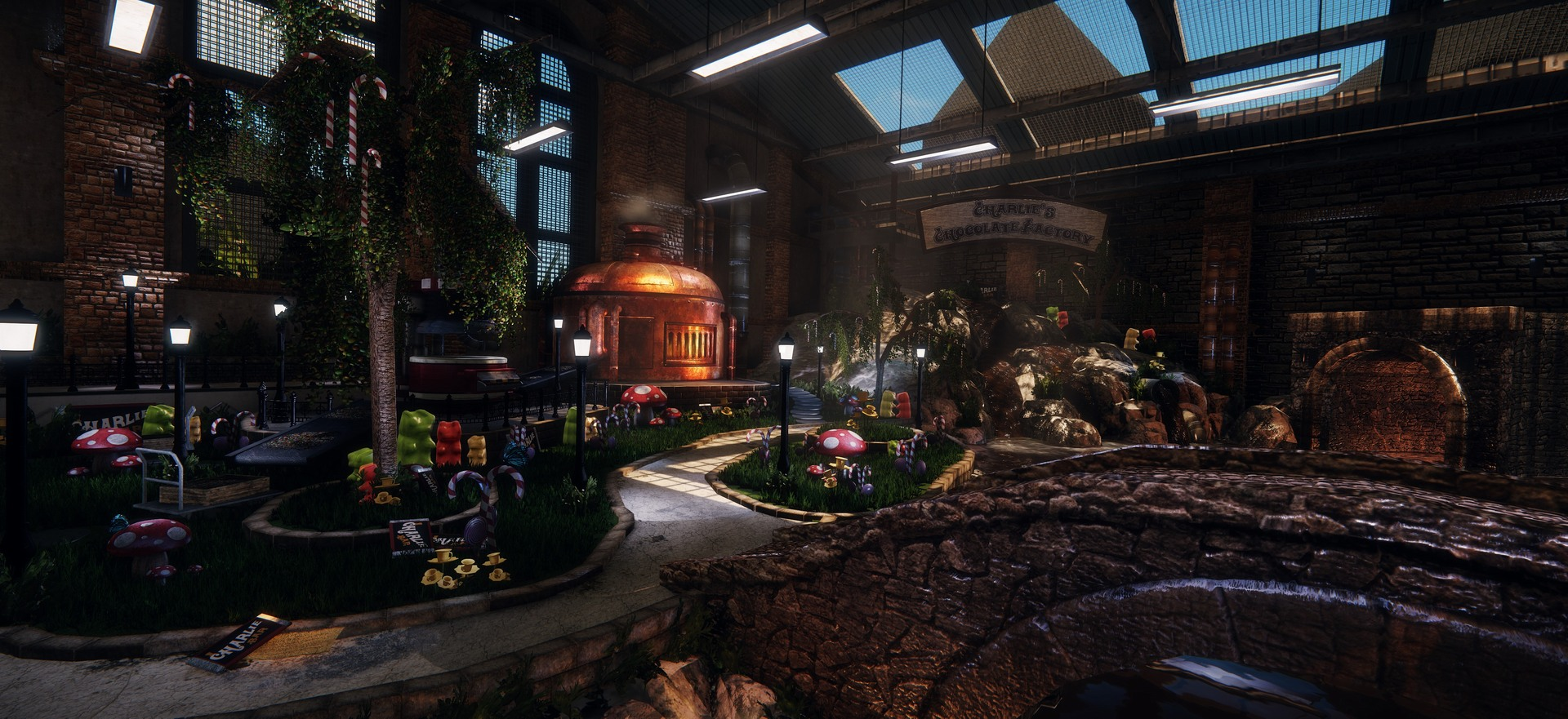 Charlie's Chocolate Factory Recreated In CRYENGINE   DSOGaming ...