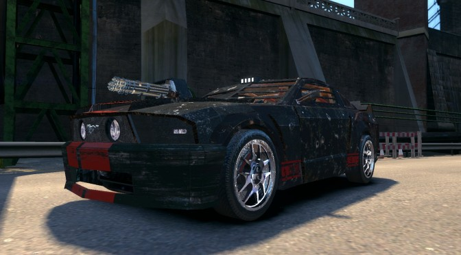 Grand Theft Auto Iv Death Race Car Invades Liberty City