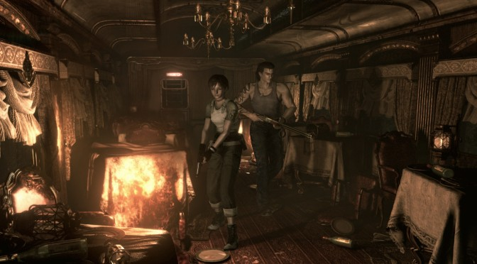 Resident Evil 0 HD feature