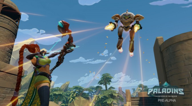 Paladins is getting a battle royale mode called, er, Battlegrounds