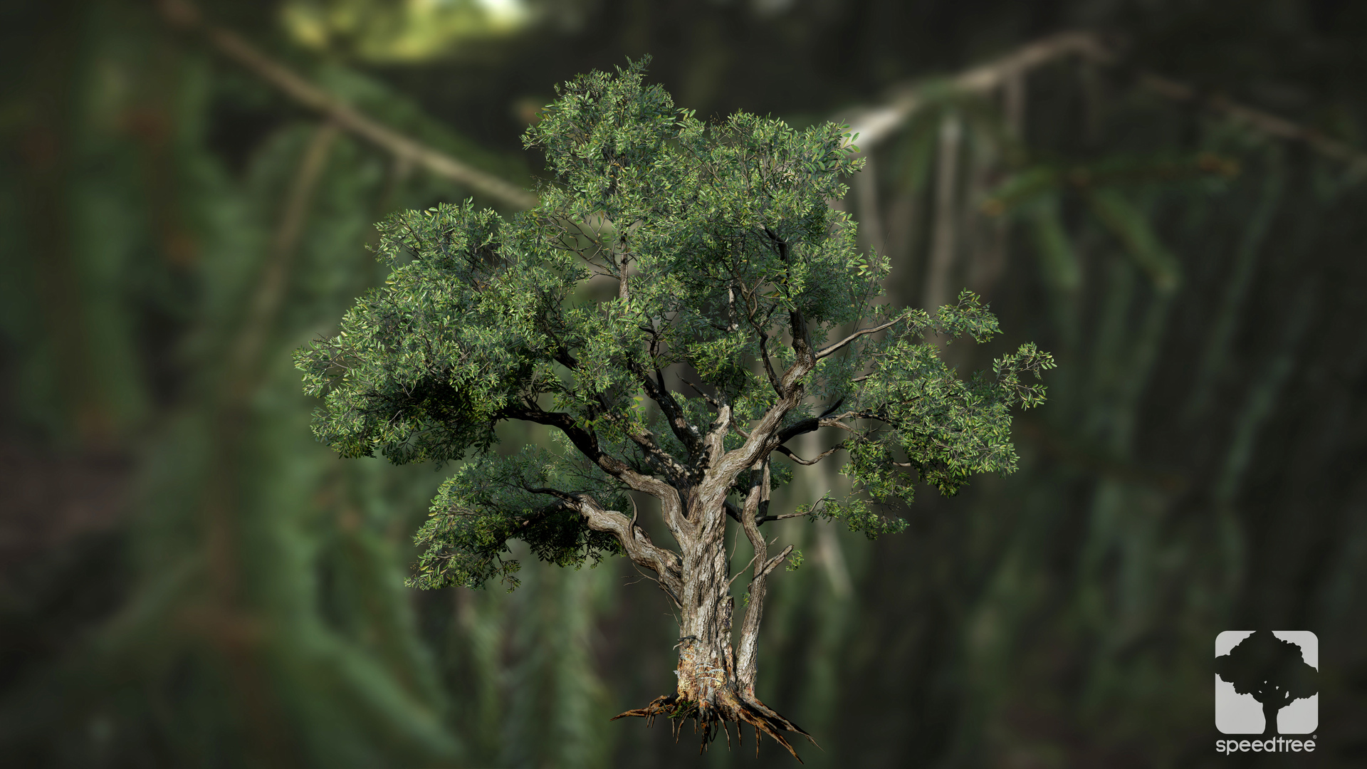 First screenshots for SpeedTree 8 in Amazon's Lumberyard