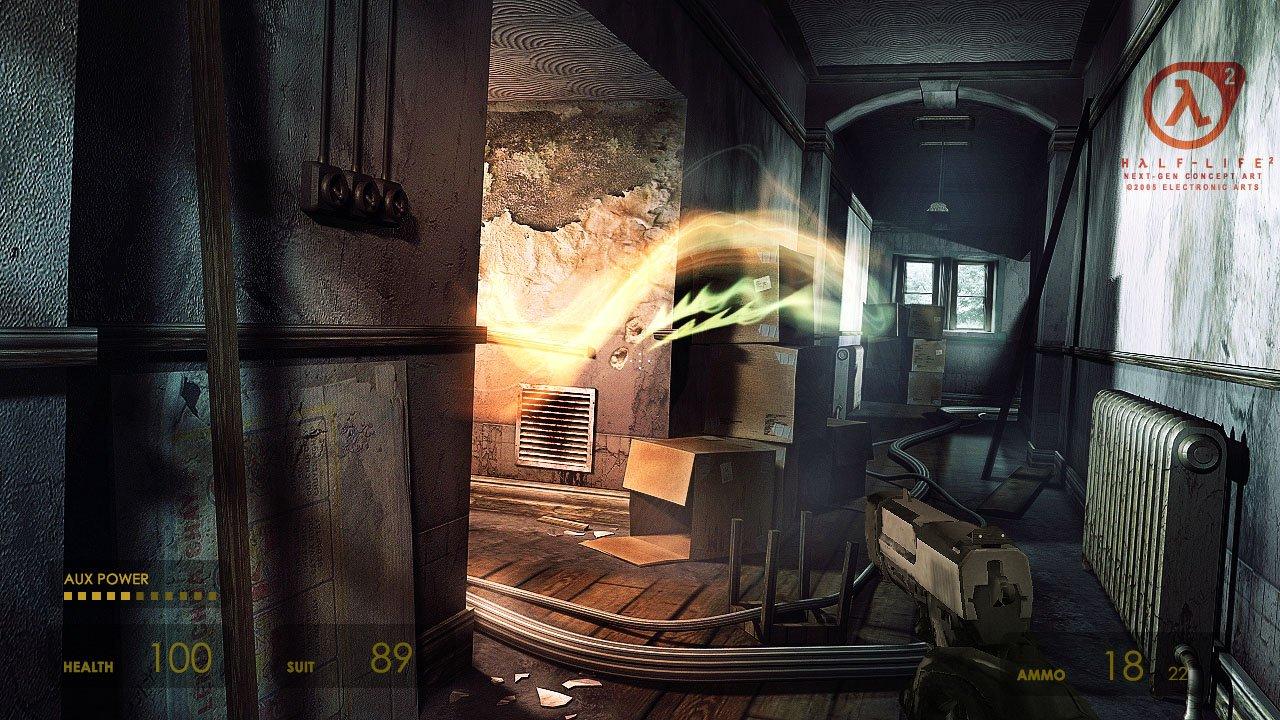 Как могла бы выглядеть Half-Life 2 на Xbox 360 и PS3 в 2005 году