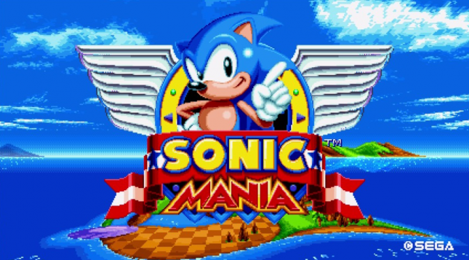 Sonic Mania Released Today For PS4, Xbox One & Nintendo Switch