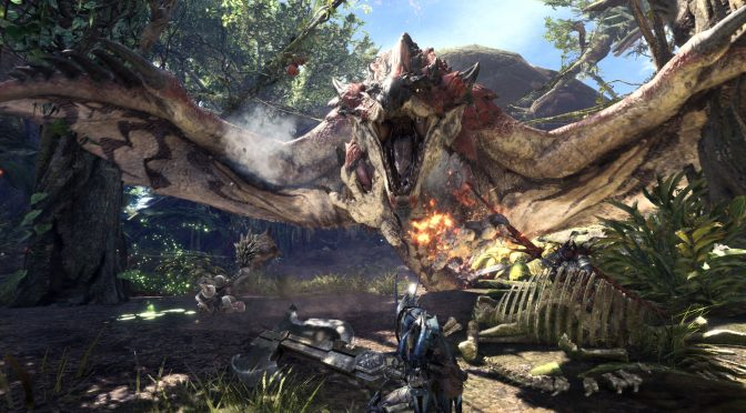 Monster Hunter World Gameplay Trailer Shows Off The Rotten Vale