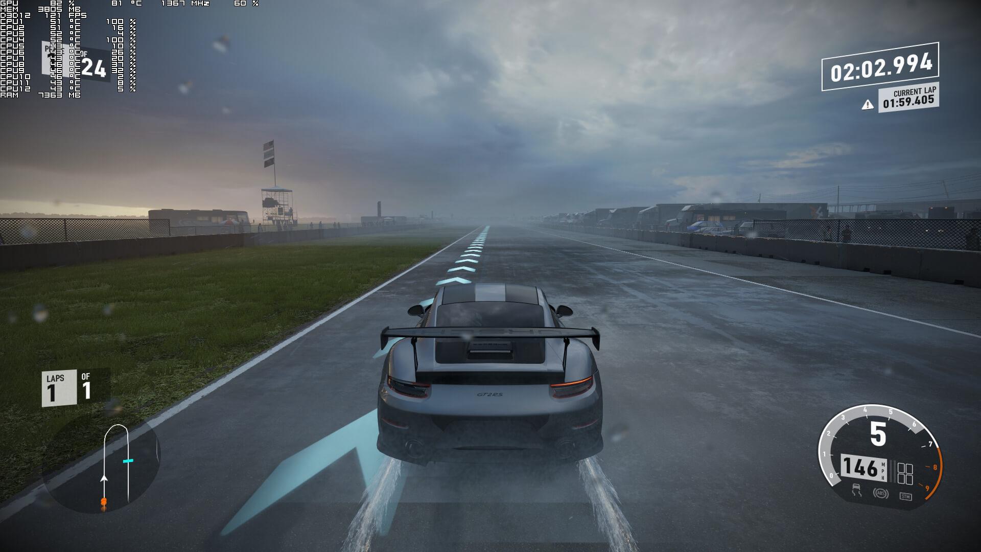 Screenshot 1 - آپدیت پاییزی ویندوز 10 مشکلات مربوط به لگ بازی Forza Motorsport 7 را رفع نمود