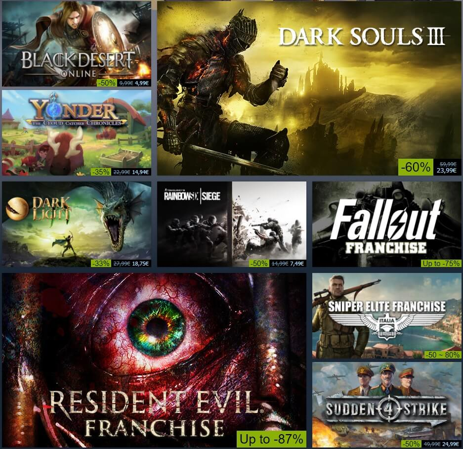 Steam Autumn Sale Begins Today