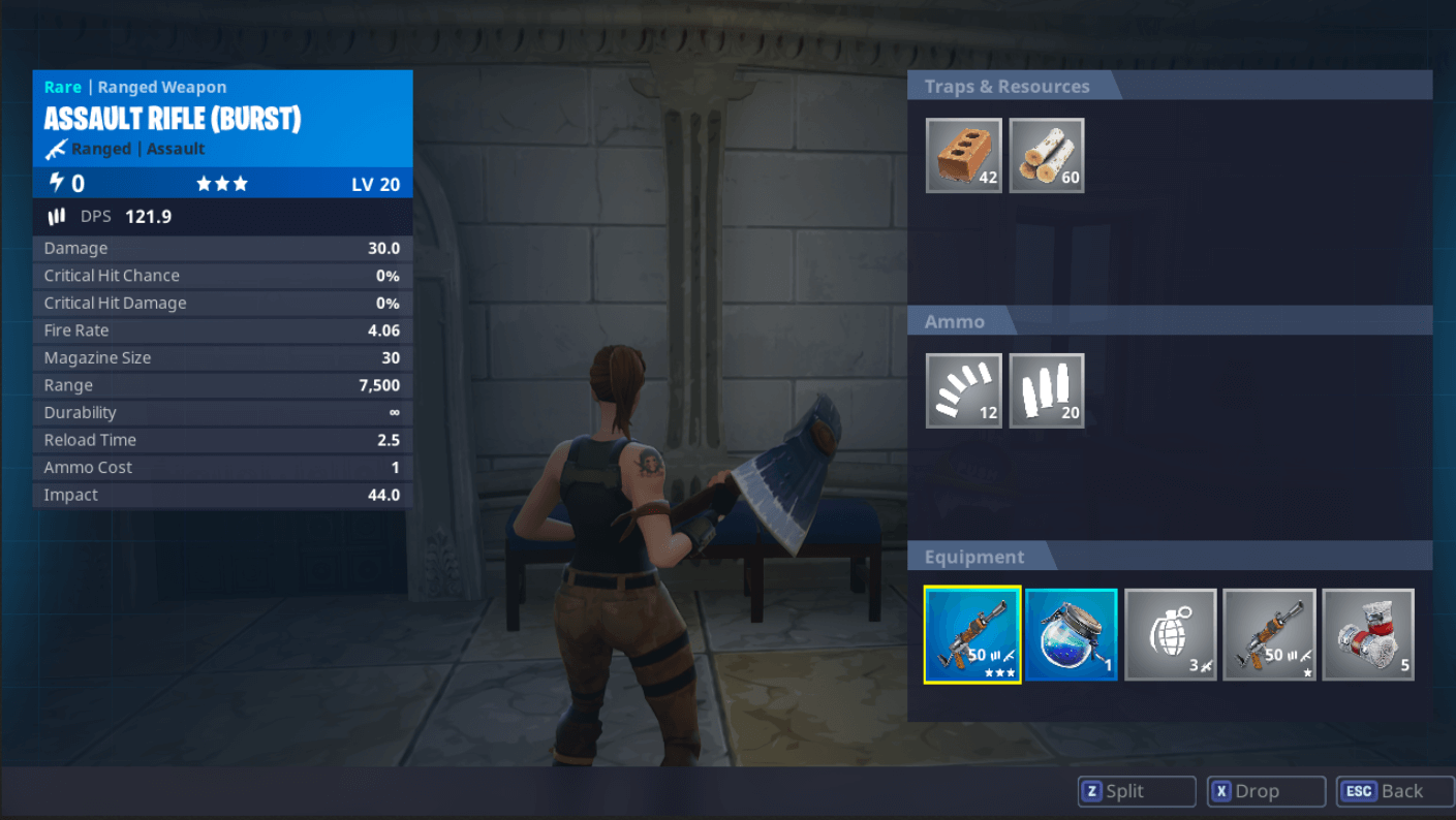 Fortnite Battle Royale update adds new inventory UI, boosts performance