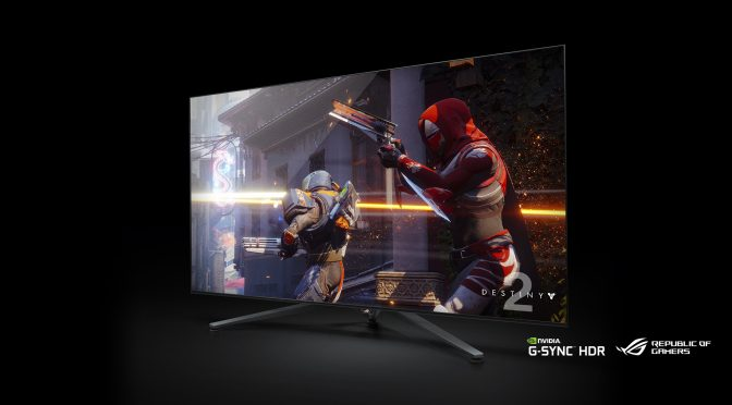 CES 2018: Asus shows of their own 65-inch BFGD gaming monitor