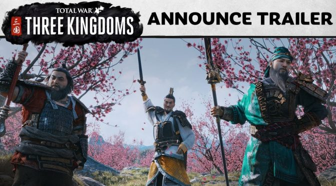 SEGA announces a new Total War game, Total War: Three Kingdoms