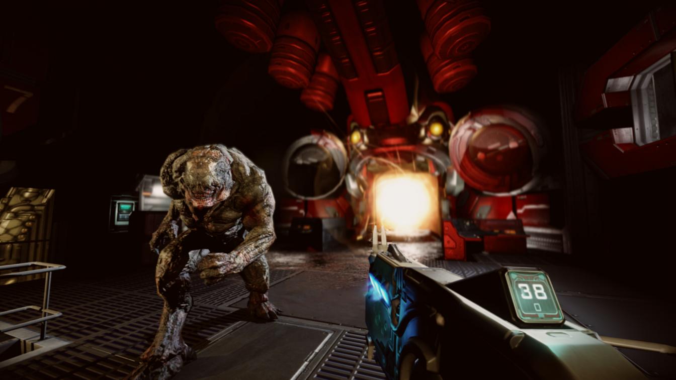 Another bunch of drooling Doom 3 screenshots