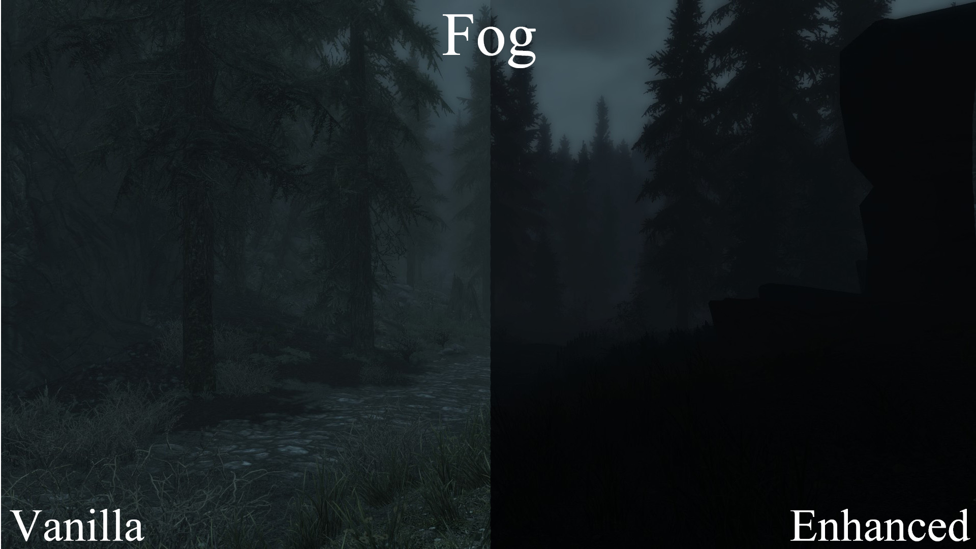 skyrim visuals the outdoors is an interesting new lighting mod