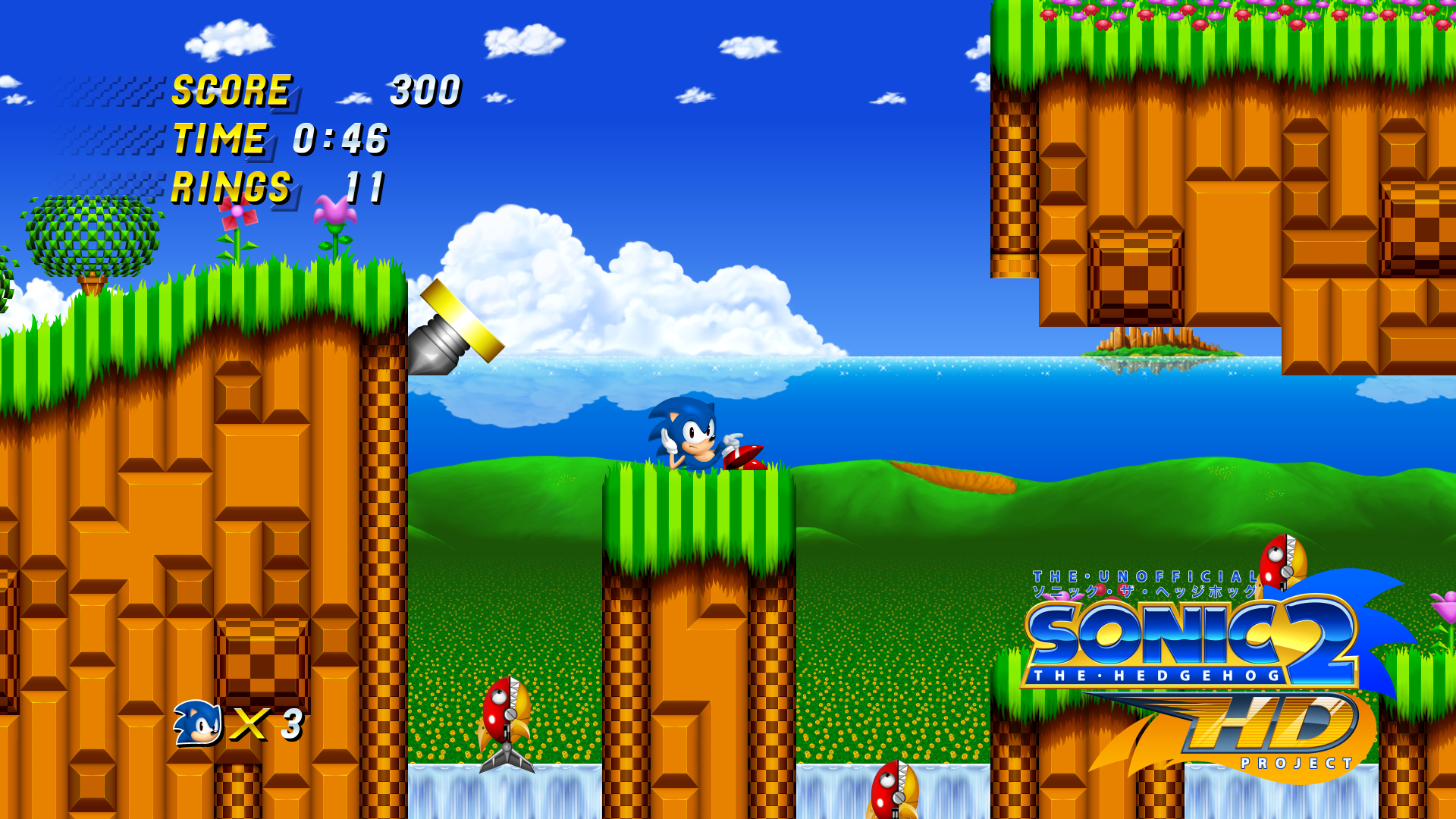 Sonic 2 HD Project - Alpha Version Released - DSOGaming