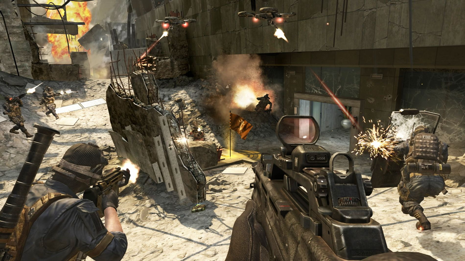 Call Of Duty Black Ops 2 Gamescom 2012 Screenshots Over One Hour Of Mp Gameplay Footage
