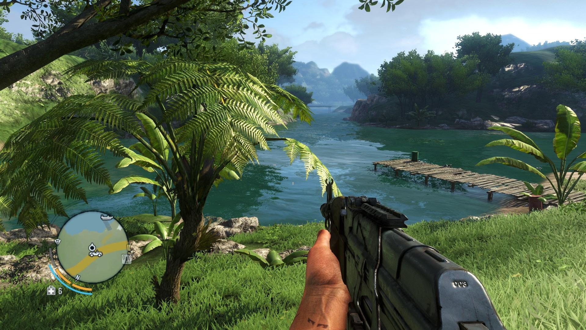 Far Cry 3 Comparison Sweetfx Vs Vanilla Versions
