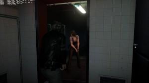 Resident Evil 6 spotlight not casting shadow