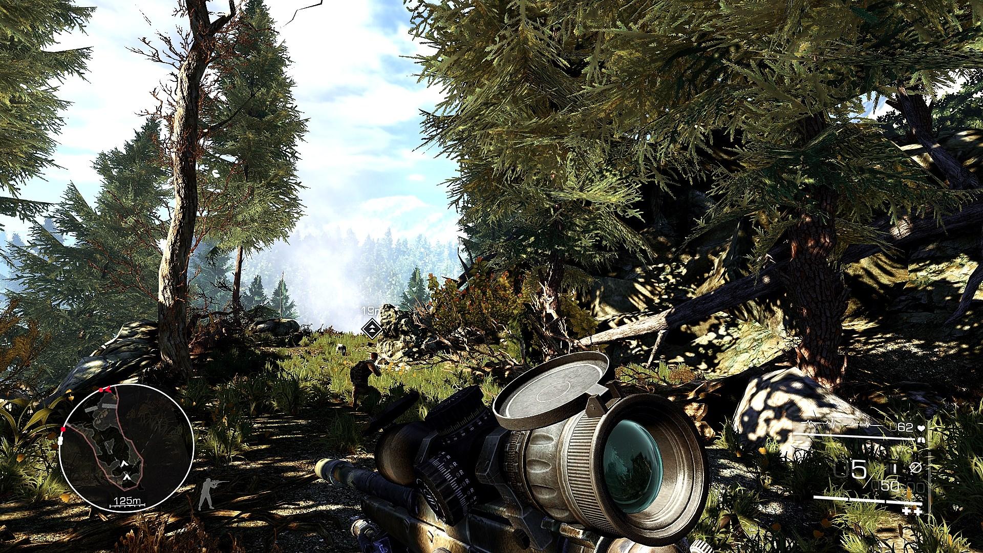Sniper: Ghost Warrior 2 - SweetFX vs Vanilla Comparison - DSOGaming