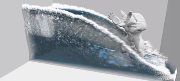 PhysX water