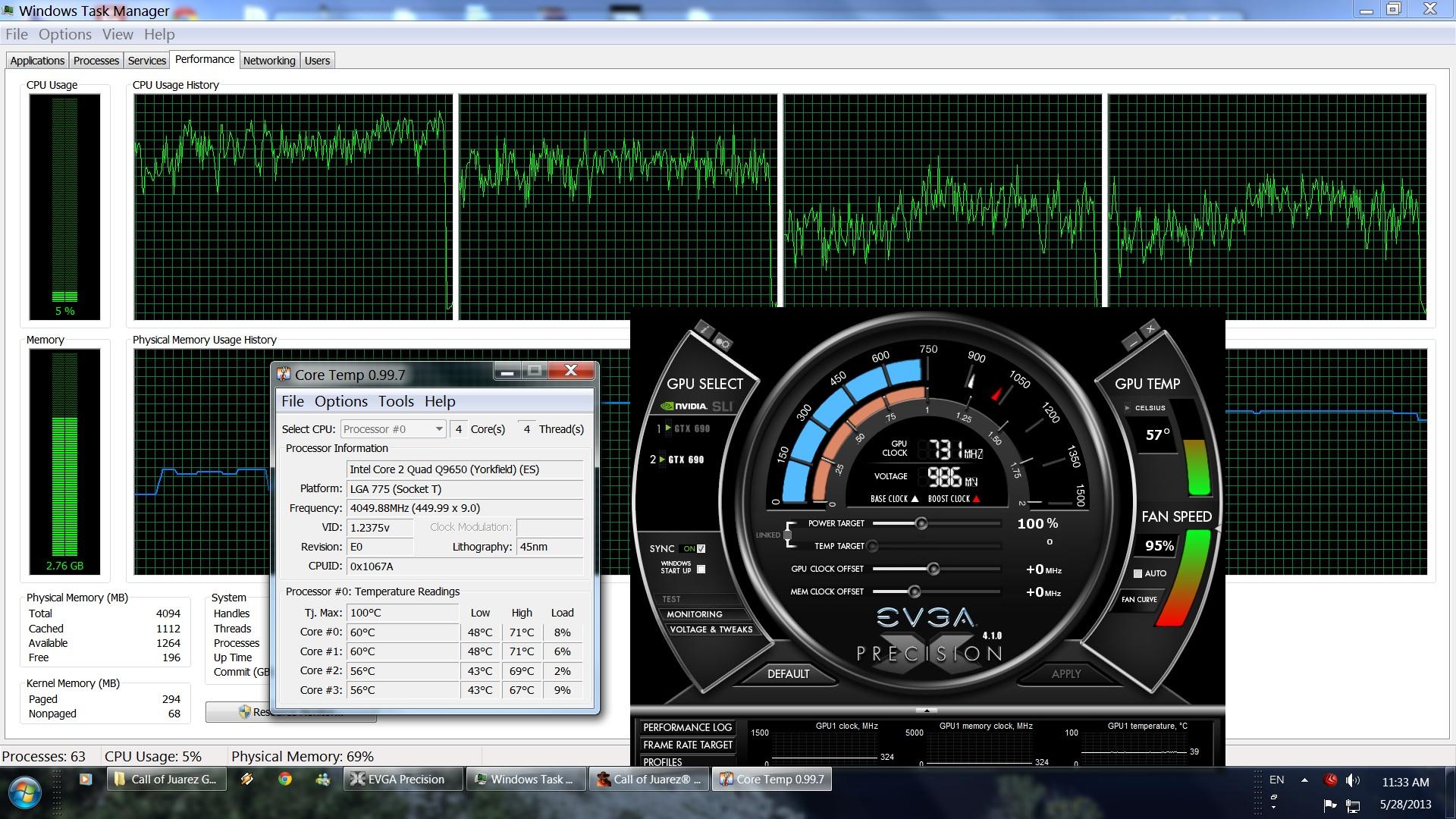 COJ Gunslinger CPU Performance