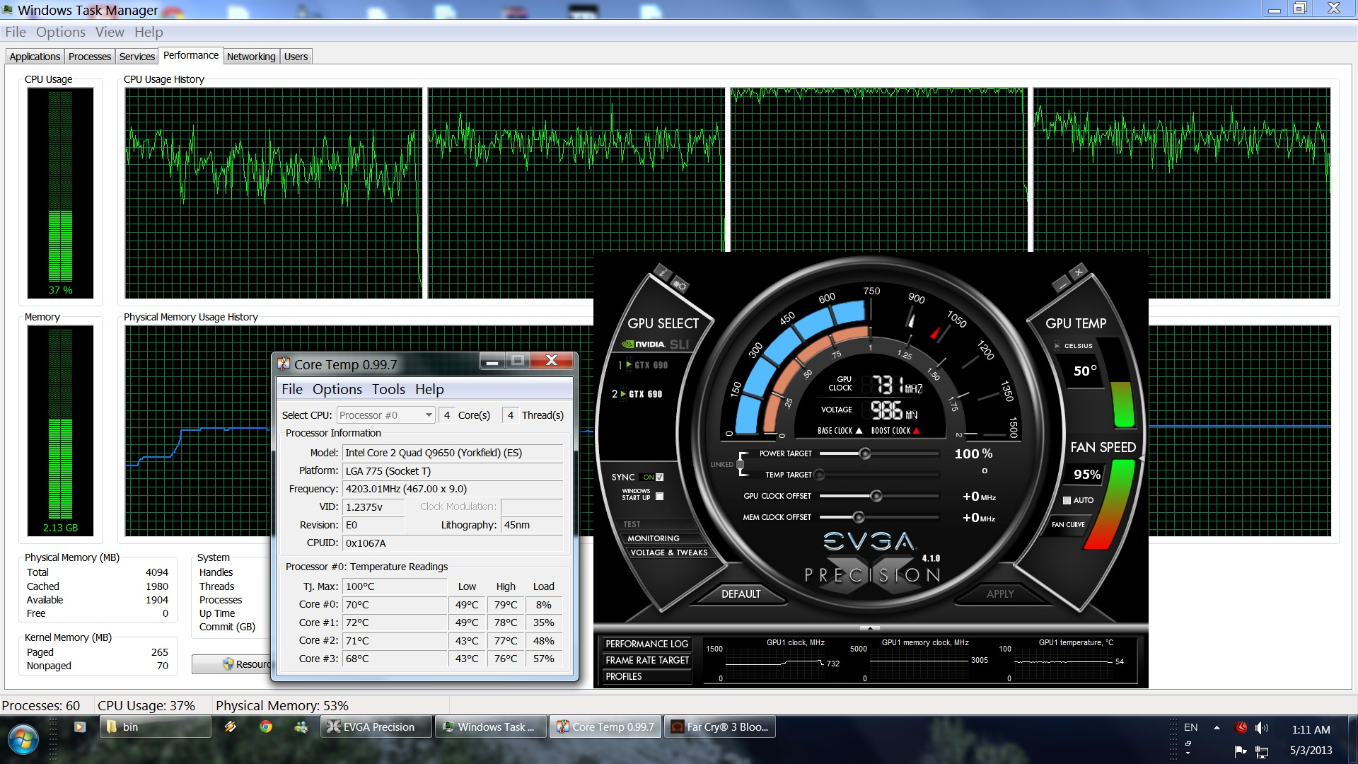 Far Cry 3 Blood Dragon CPU Performance