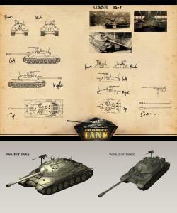 IS-7 comparison
