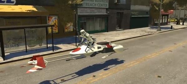 Star Wars GTA IV Mod