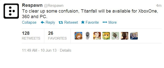 Titanfall PC confirmed