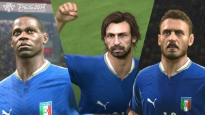 PES 2014 Italy faces