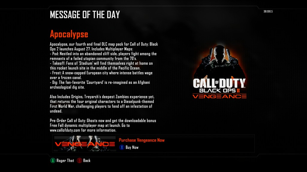 Call of duty black ops 2 incoming dlc will be called apocalypse brkzruqccaaju9 brket3pciaa9g2k activisioncall of duty black ops 2 treyarch gumiabroncs Gallery