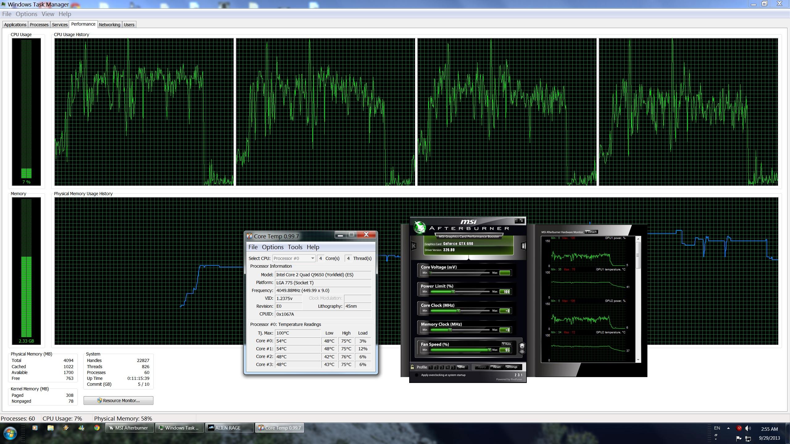 Alien Rage Unlimited PC Performance