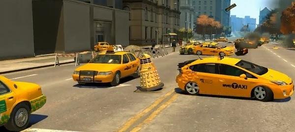 GTA IV Dalek Doctor Who