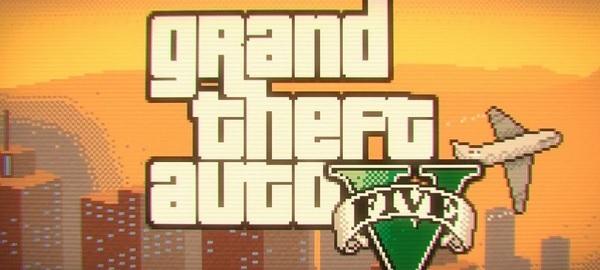 GTA V retro