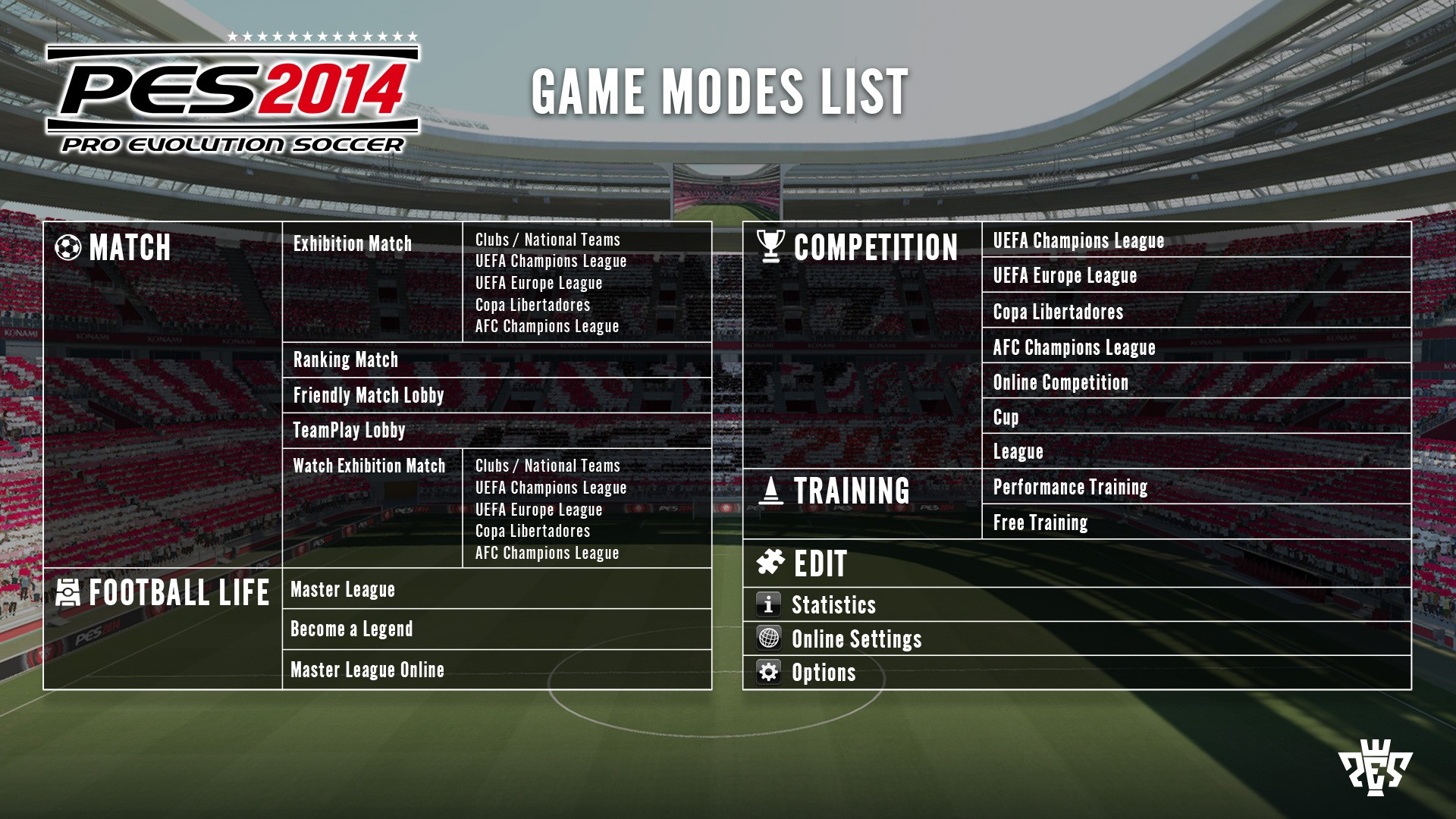 PES2014_Game-Modes-List