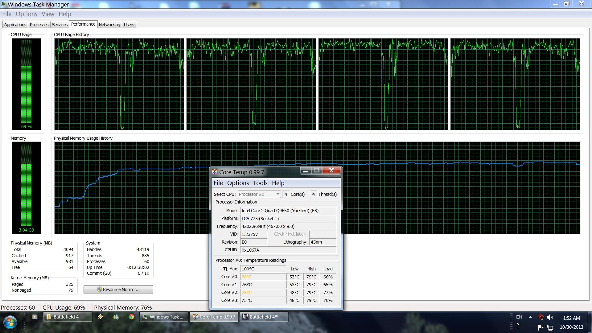 BF4 PC Performance