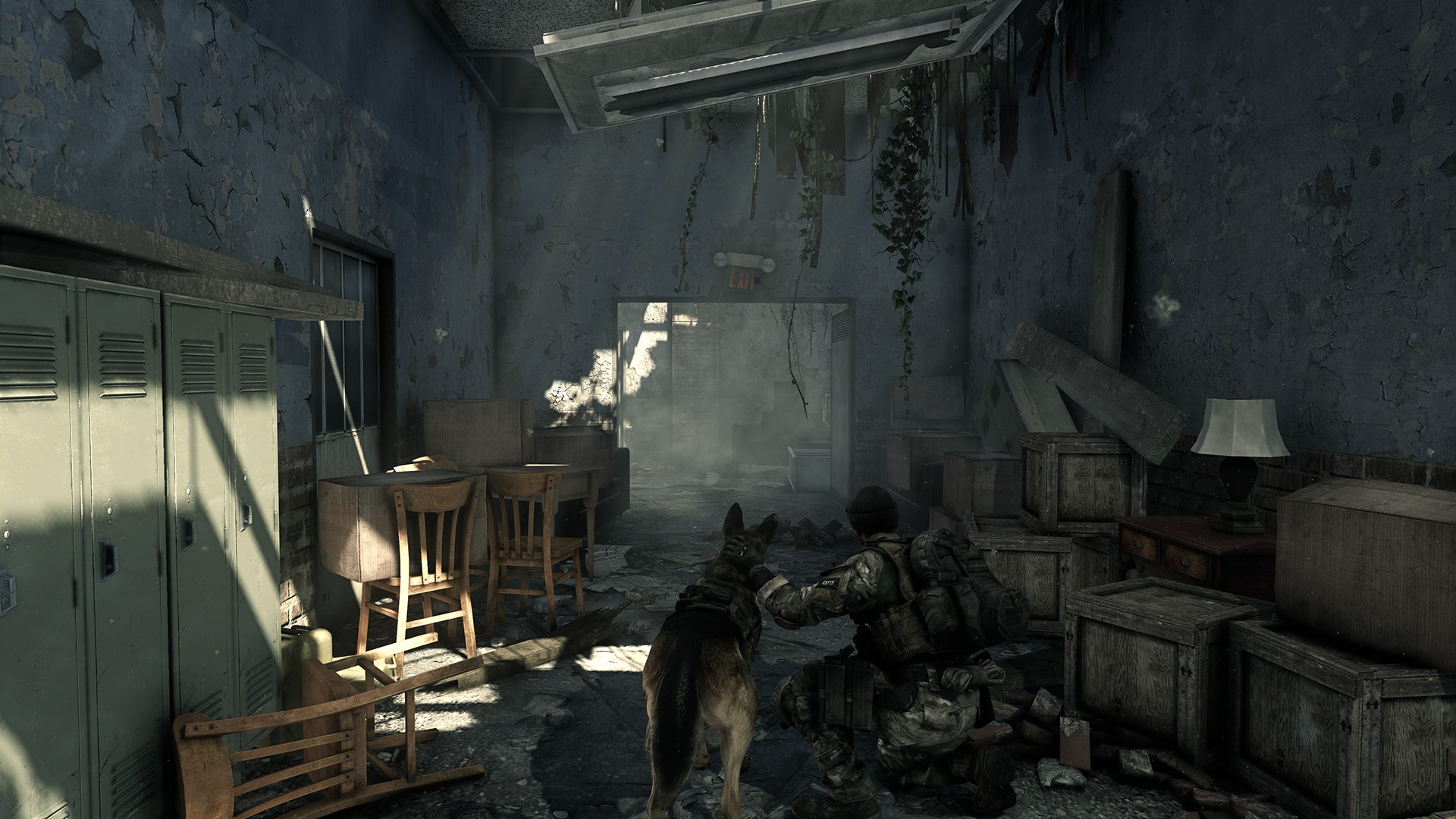 Call of Duty: Ghosts - PhysX Fur To Be Introduced Via A