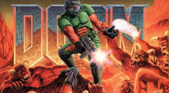 Someone is working on a faithful classic Doom Remake in Unreal Engine 4