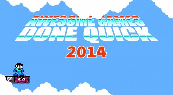 Awesome Games Done Quick 2014 – Hits Its $500K Goal One Day Before Ending