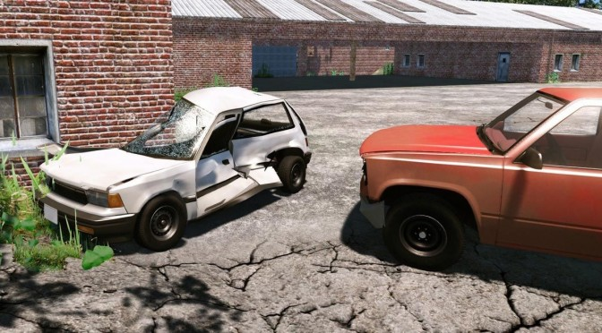 BeamNG.drive – New Video Focuses On Handling Model, Shows New Impressive Vehicle Deformation