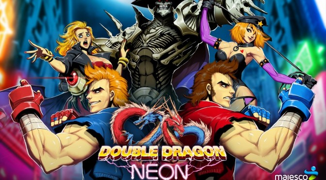 DSOGaming – Double Dragon: Neon – First 10 Minutes Playthrough