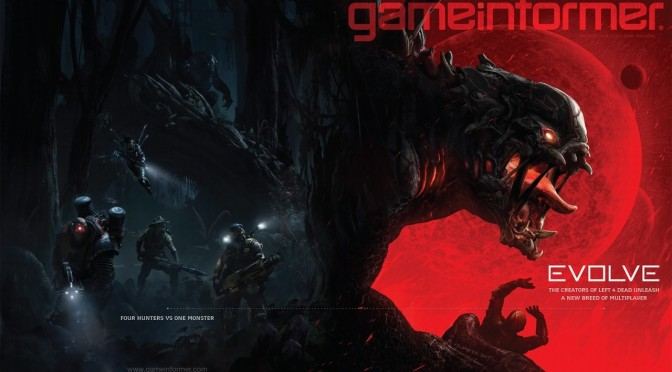 Evolve Gets A Teaser Trailer, Interactive Multiplayer Trailer Coming April 24th