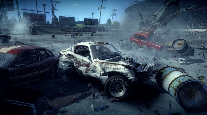 Next Car Game Update Adds American Sedan car, Figure 8 track, Cinematic Camera + More