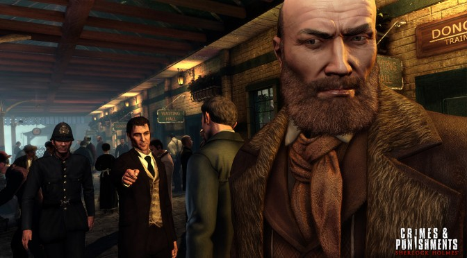 Sherlock Holmes: Crimes & Punishments Gets A New Trailer