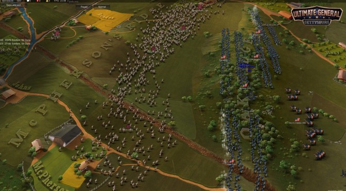 Ultimate General: Gettysburg Is Available On Steam Via Early Access