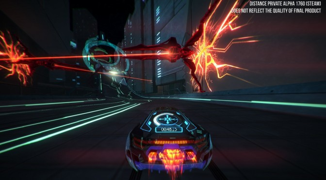 Distance, the spiritual successor to Nitronic Rush, has been fully released