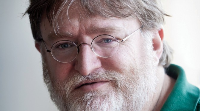 Gabe Newell says Valve is now making NEW games