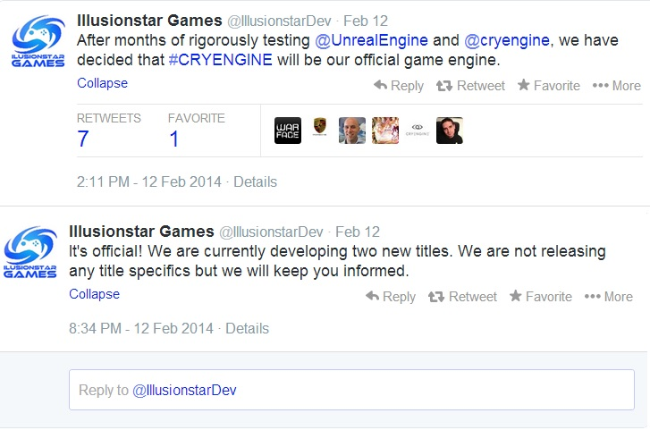 Illusionstar Games twitter