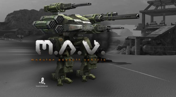 M.A.V. – Modular Assault Vehicle Is A New Mech Title, Gets A Kickstarter Campaign