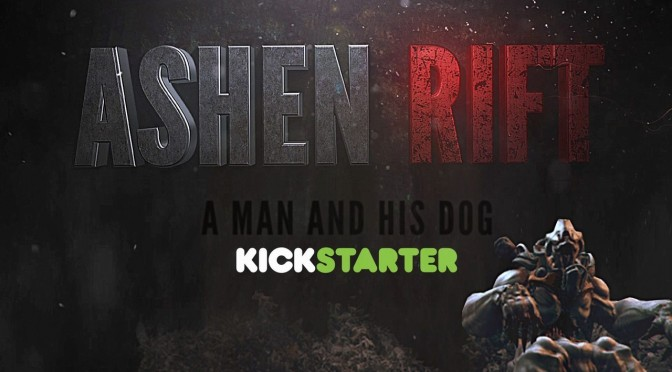 """Ashen Rift: A man and his dog: """"you can break almost anything and alter the landscape around you"""""""